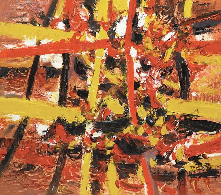 Artwork by Lise Gervais,  La Voie d'Enfer (1959)