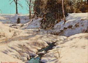 Artwork by Frank Hans Johnston, The Valley Stream
