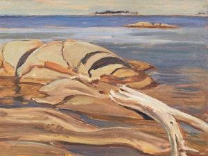 Artwork by Alexander Young Jackson, Shoals, Georgian Bay