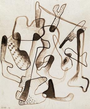 Artwork by Jean-Paul Mousseau, Sans titre