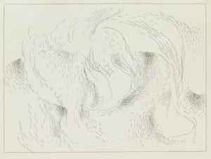 Artwork by Lionel LeMoine FitzGerald, Woman as the Universe No. 6 (1955)