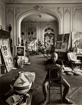 Artwork by Arnold Newman, Picasso