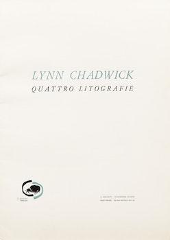 Artwork by Lynn Russell Chadwick, Quattro Litographie