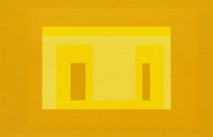 Artwork by Josef Albers, Variant I (From Ten Variants)(Danliowitz 173.1)
