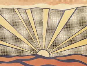 Artwork by Roy Lichtenstein, Sunrise (Corlett II.7)