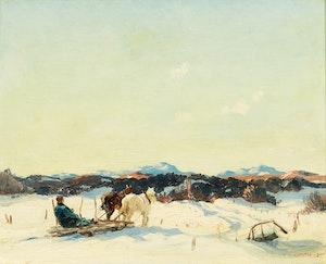 Artwork by Frederick Simpson Coburn, Homeward Bound