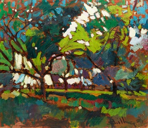 Artwork by Arthur Shilling, Forest Dwelling