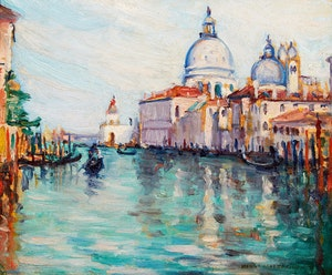 Artwork by Manly Edward MacDonald, Basilica di Santa Maria della Salute, Venice