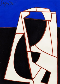 Artwork by Peter Sager, Untitled Abstraction