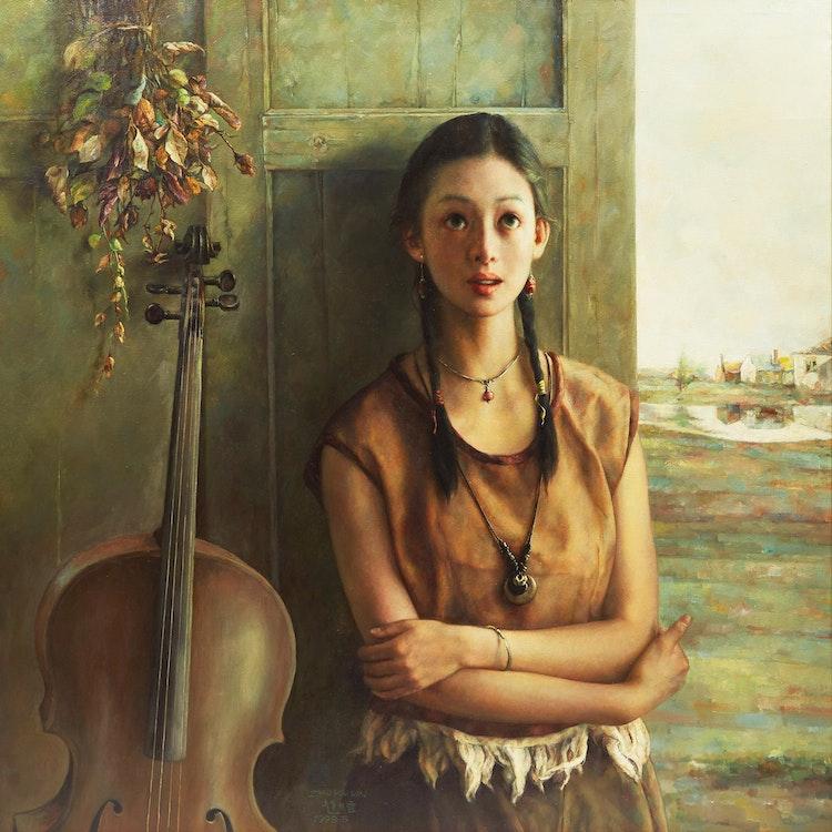Artwork by Zhao Kailin,  Autumn Sonata