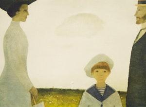 Artwork by Jean Paul Lemieux, 1910 Remembered; Le petit harlequin