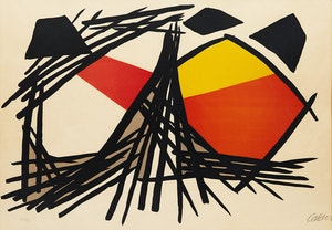 Artwork by Alexander Calder, Untitled (Grande Composition)