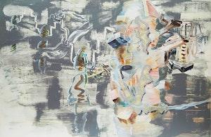 Artwork by Carol Wainio, Structures of Memory (No. 2)