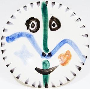 Artwork by Pablo Picasso, Visage No. 111 (A. Ramié 746)