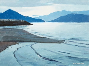 Artwork by Alan Caswell Collier, Porteau Cove, on Howe Sound