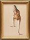 Thumbnail of Artwork by Fred Ross,  Dancer Resting
