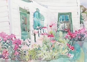 Artwork by Elizabeth Berry, Garden