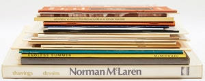 Artwork by  Books and Reference, Canadian Art Exhibition Catalogues and Books