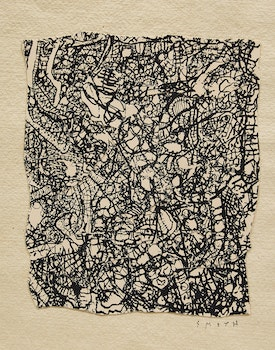 Artwork by Gordon Appelbe Smith, Abstract Composition