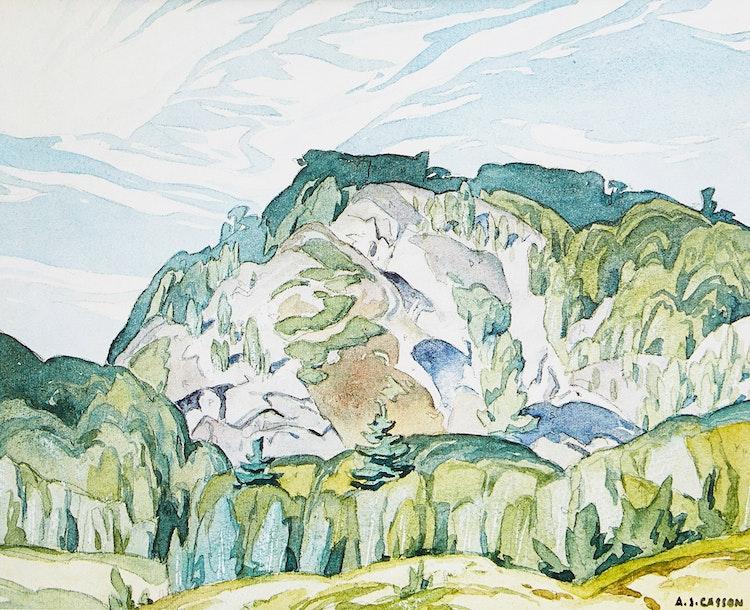 Artwork by Alfred Joseph Casson,  McGarry Flats