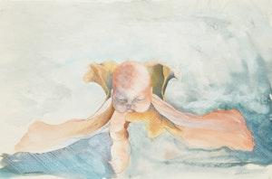 Artwork by Noel Bebee, Untitled (Flying Baby)