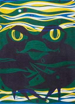 Artwork by Aba Bayefsky, Spirit as Frog