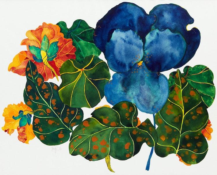 Artwork by Karen Kulyk,  Flowers