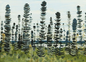 Artwork by Jacques Godefroy de Tonnancour, Northern Ontario