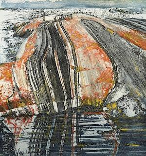 Artwork by Edward John Bartram, Rock Reflections, Precambrian Shield Series
