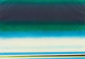 Artwork by Rita Letendre, Sous le signe de l'amour vert