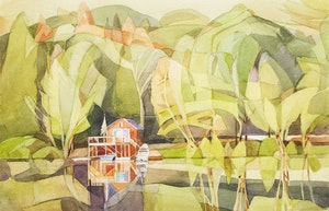 Artwork by Mary Anne Ludlam, Pull Up, Lake Paudash, ON