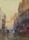 Thumbnail of Artwork by Frederic Marlett Bell-Smith,  Street Scene