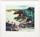 Thumbnail of Artwork by John Hartman,  Hamilton Harbour from the York St. High Bridge