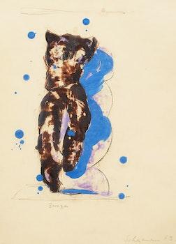 Artwork by Tony Scherman, Bronze (Matisse)