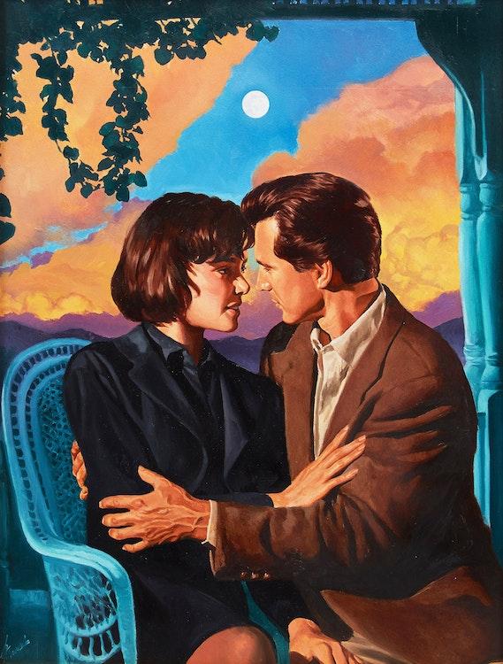 Artwork by Tony Meers,  Scandalous Seduction