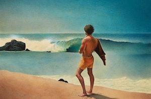 Artwork by Lloyd Fitzgerald, Surf Walker