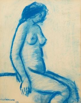 Artwork by Stanley Morel Cosgrove, Standing Nude