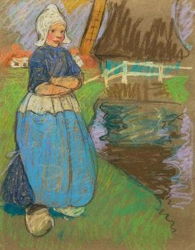 Artwork by Mary Alexandra Bell Eastlake, Portrait of a Dutch Girl