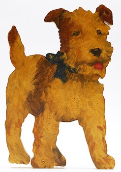 Artwork by Manly Edward MacDonald, Terrier Study