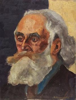 Artwork by Françoise Pagnuelo, Portrait of a Man