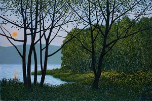 Artwork by Philip Sybal, Sunrise June