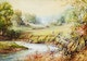 Thumbnail of Artwork by Frederick Henry Brigden,  Bend in Don River Between Cummer and Finch - Richardson House in Background