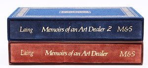Artwork by  Books and Reference, Memoirs of an Art Dealer (Volumes 1 and 2)