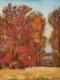 Thumbnail of Artwork by John William Beatty,  Trees in Autumn