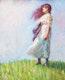 Thumbnail of Artwork by Peter Clapham Sheppard,  Summer Breeze