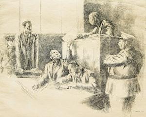 Artwork by Ernst Neumann, Three Procedural Scenes