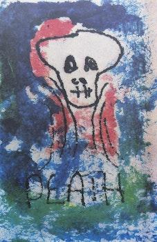 Artwork by David Bowie, Death (1975)