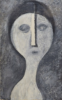 Artwork by Gerald Milne Moses, Abstract Portrait