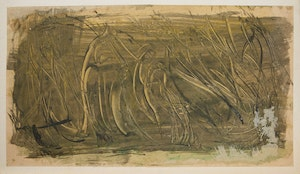 Artwork by Alexander Samuel Millar, Abstract Study; Thistles; Tree Study; Abstract Landscape; Palm Tree;