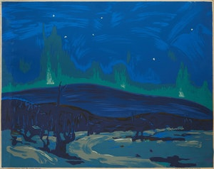 Artwork by Tom Thomson, Northern Lights